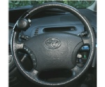 Steering Wheel Spinner fitted to steering wheel