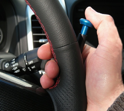 Hand Held Thumb Control Accelerator